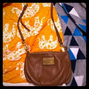 Marc by Marc Jacobs Brown Leather Crossbody